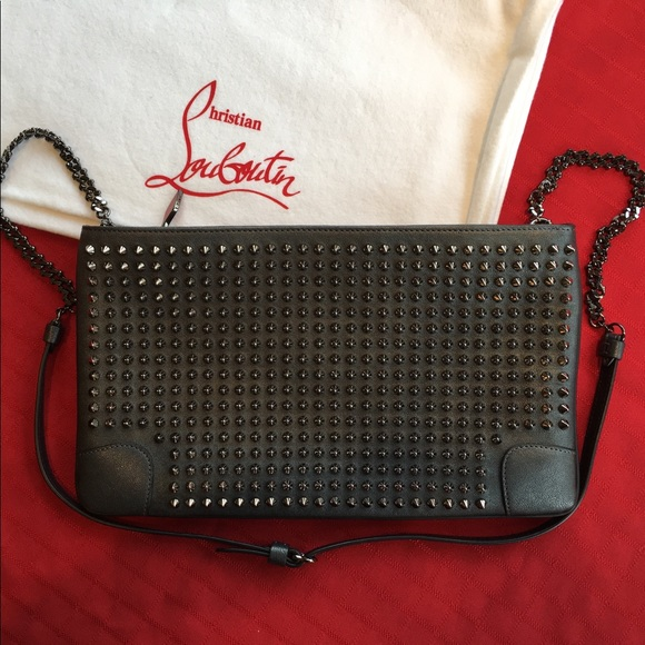 39d5f78498 Christian Louboutin Bags | Loubiposh Studded Clutch | Poshmark